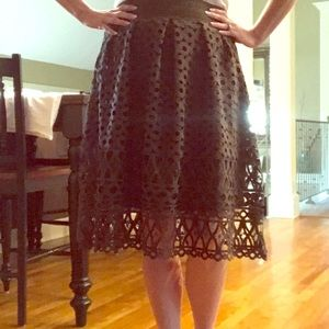 Romeo and Juliet Couture olive green skirt